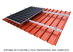 Sistemas de Fijación a Teja Trapezoidal